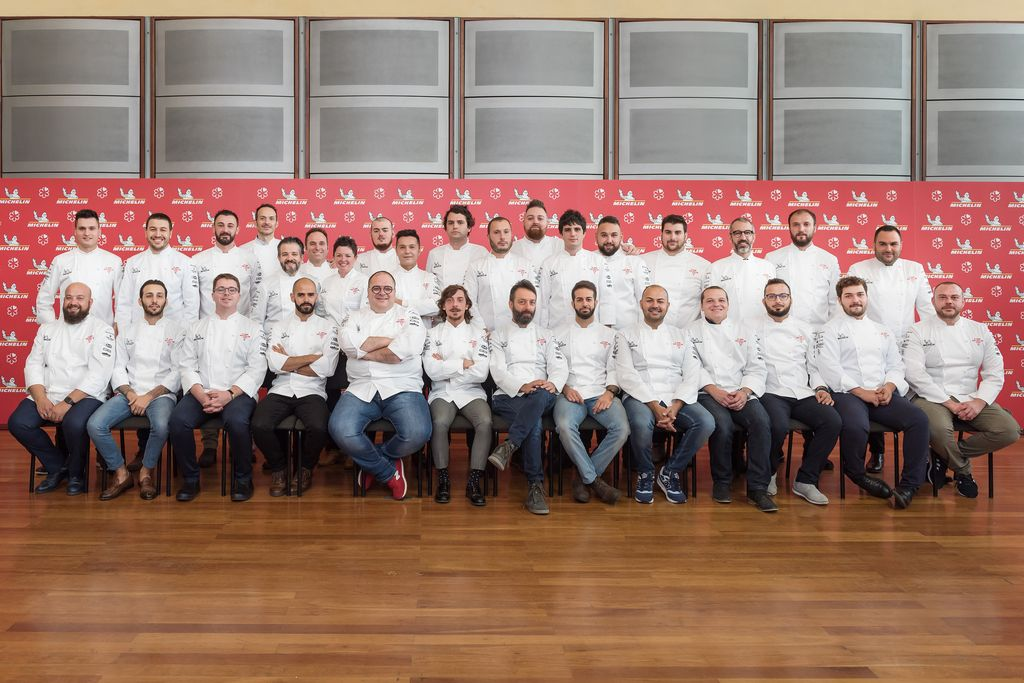 Chef stellati Michelin 2019