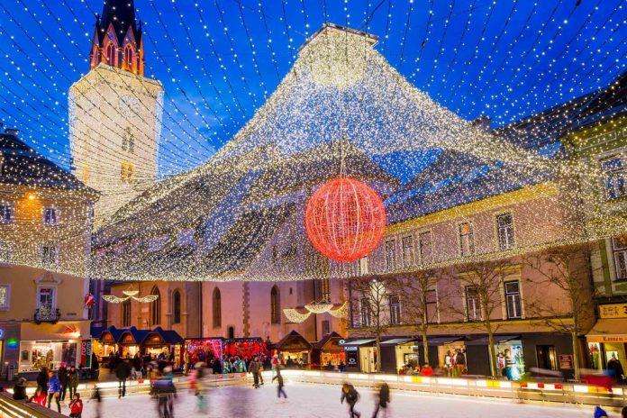 copyright Region Villach Tourismus Villach Eislaufplatz Michael Stabentheiner