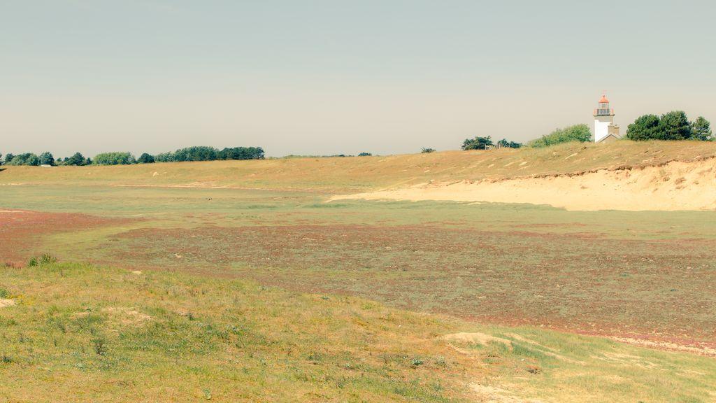Il faro presso Pointe d'Agon