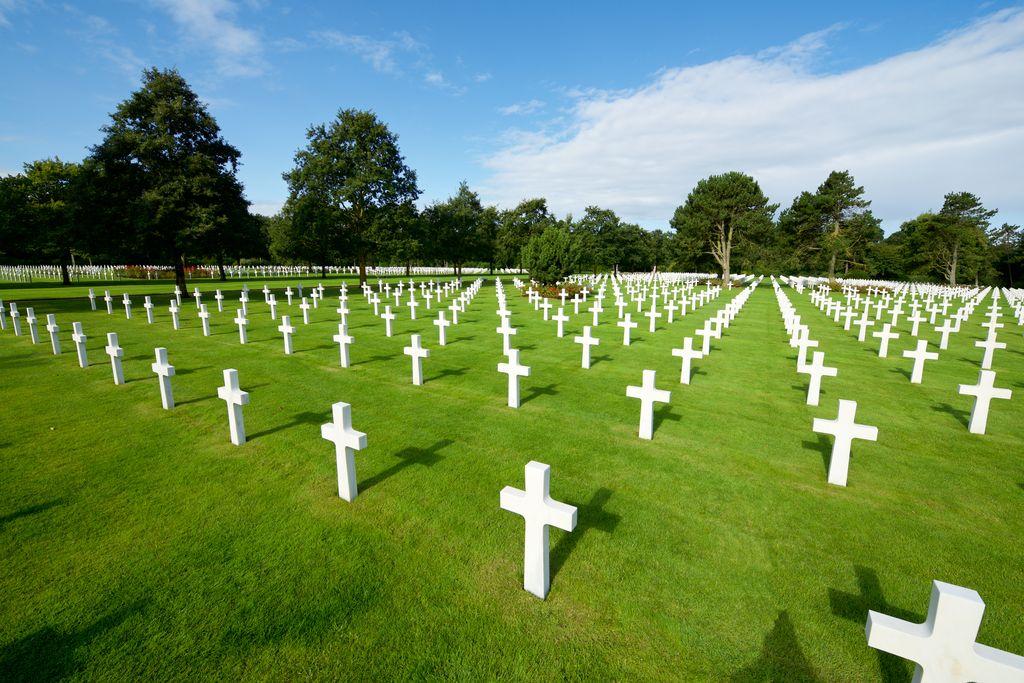 Normandia, Omaha Beach, cimitero americano, Coleville-sur-Mer