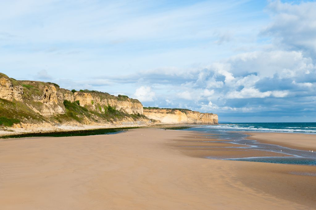 Normandia, Omaha Beach panoramica