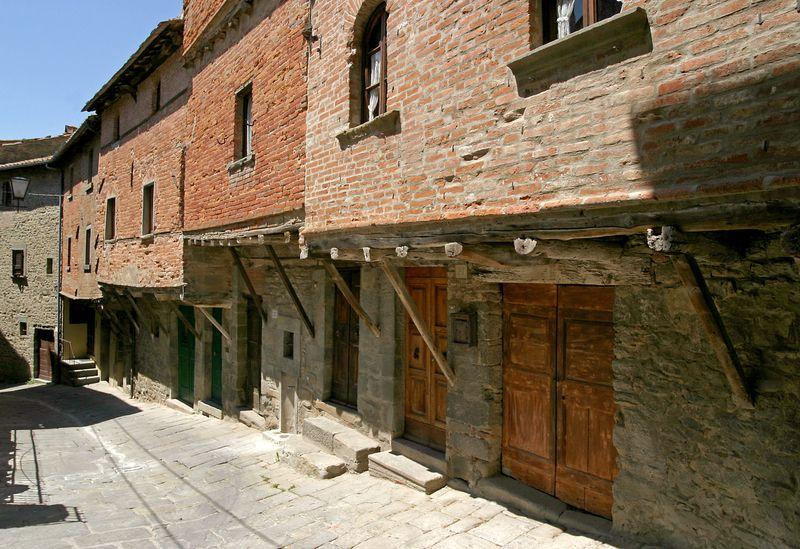 Case medievali di Cortona