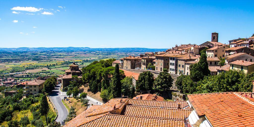 panoramica Cortona