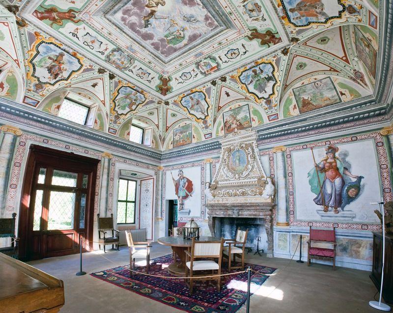 Palazzo Vertemate Sala Giove e Mercurio