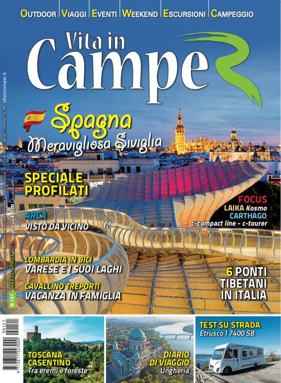 Copertina Vita in Camper 121