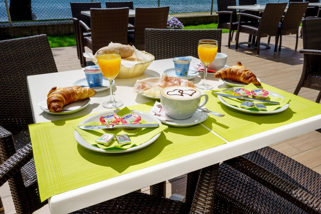 Breakfast at Camping Gardenia