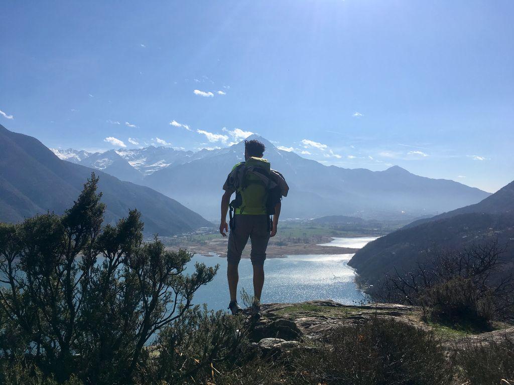 Hiking at Lake Como