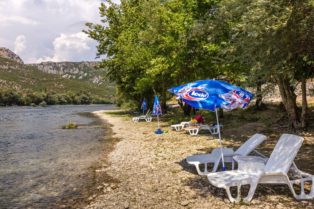 Auto Camp Green Park spiaggia