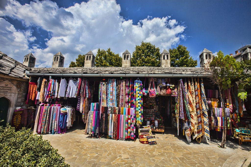 Bazar a Mostar
