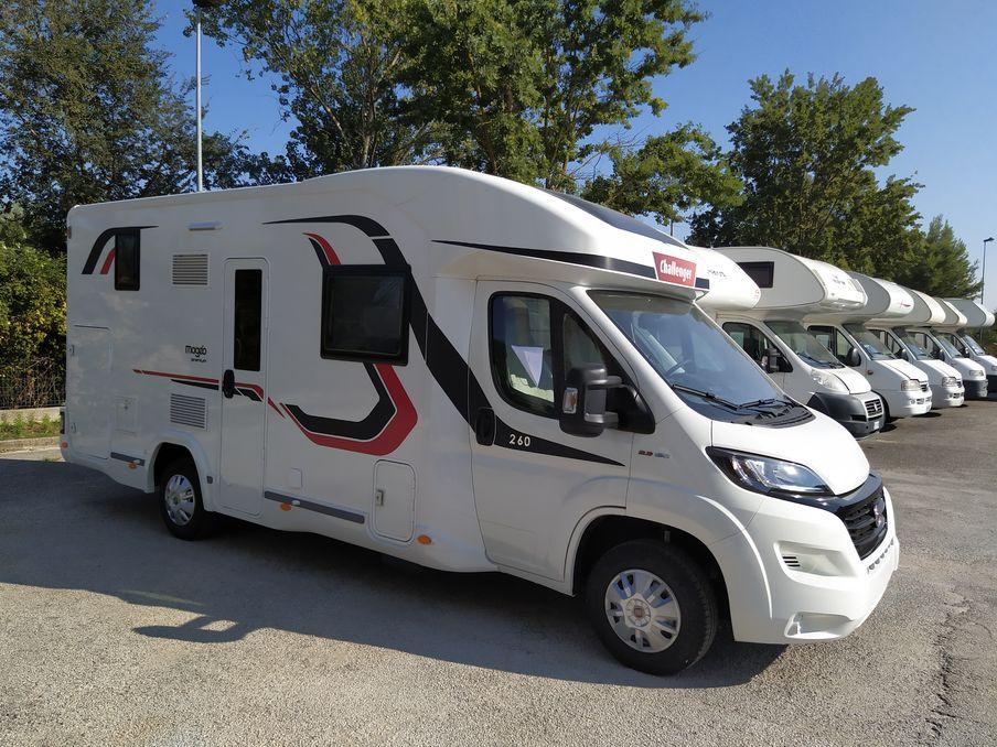 promozione CHALLENGER MAGEO 260 Arcobaleno Caravan
