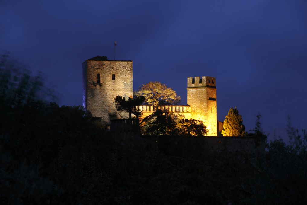 Castello di Gropparello - By Night