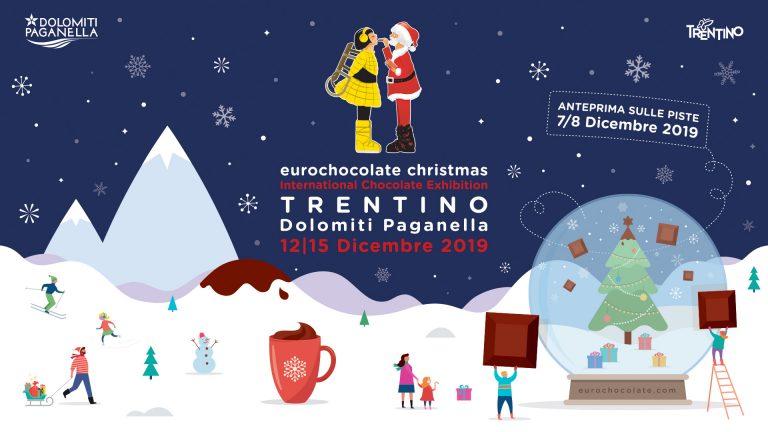 Seconda edizione di Eurochocolate Christmas in Trentino