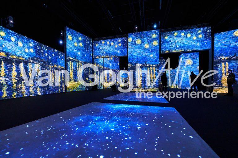 Van Gogh e i suoi dipinti rivivono a Zurigo con una mostra multimediale