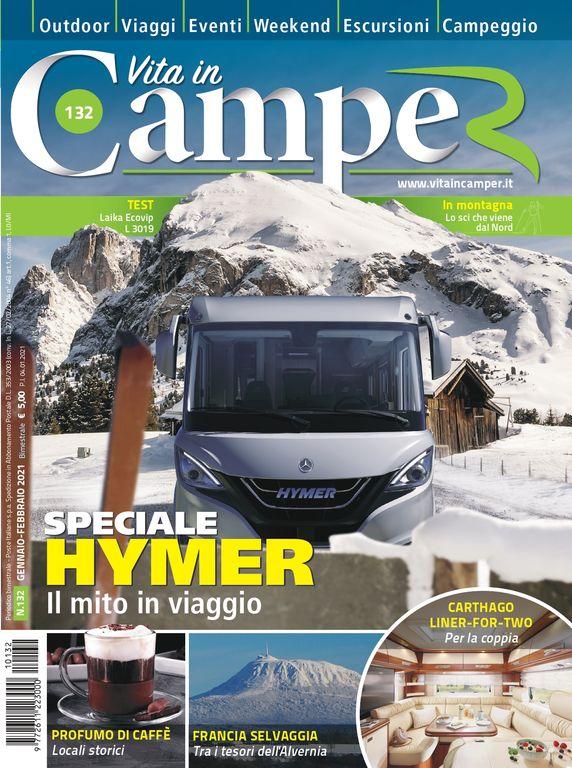 Copertina Vita in Camper 132