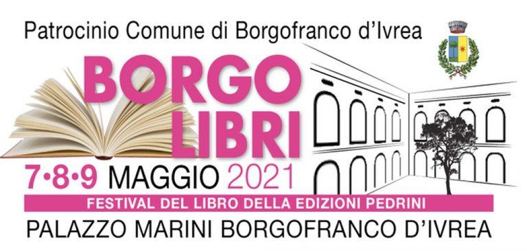 """Torna, dal 7 al 9 maggio 2021, la rassegna """"Borgo Libri"""""""