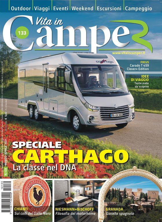 Copertina Vita in Camper 133