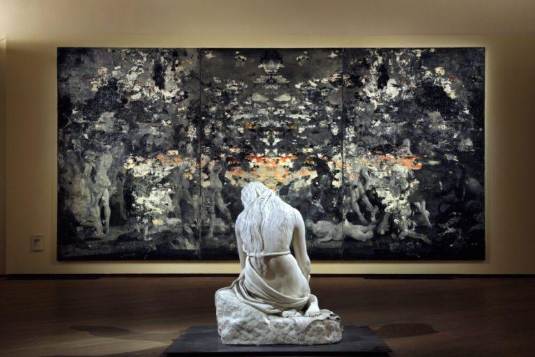 Lunedì 26 apertura straordinaria di Palazzo Fava con Sfregi di Nicola Samorì