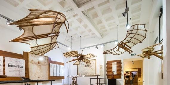 Roma: Riapre la Mostra di Leonardo Da Vinci al Palazzo della Cancelleria