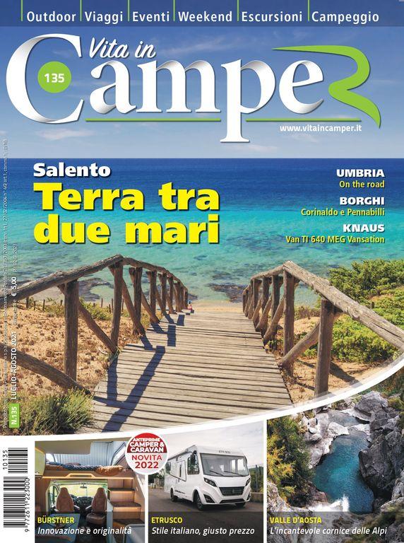 Copertina Vita in Camper 135