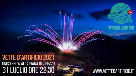 """Vette d'artificio """"special edition"""" il 31 luglio alla Piana di Vigezzo"""